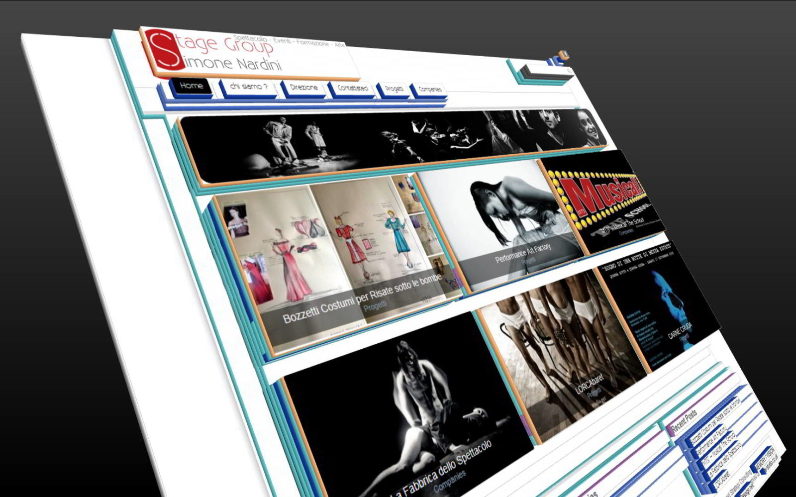 STAGE GROUP - WEB SITE