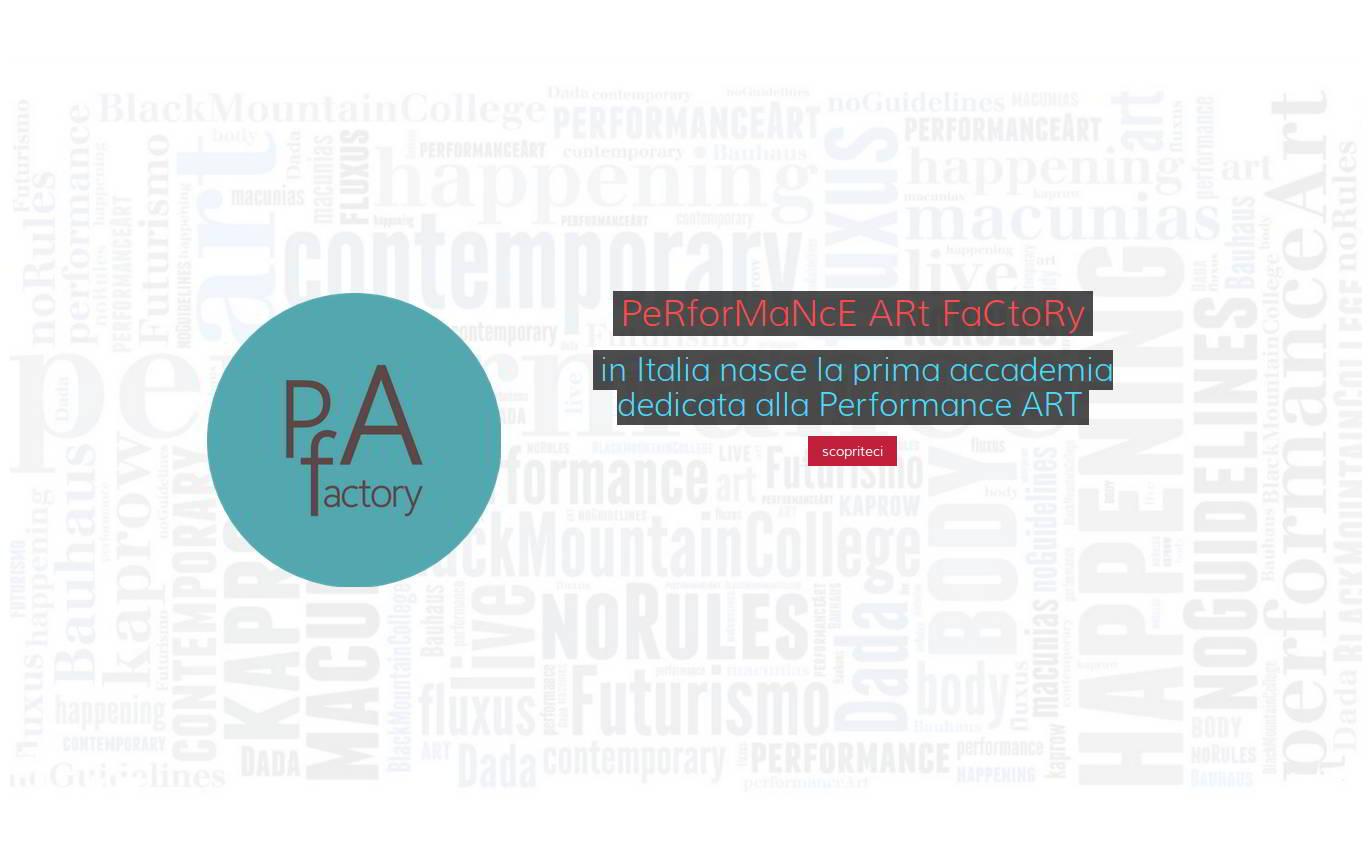PAf - WEB SITE - HOMEPAGE