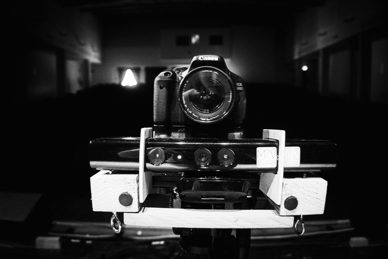 Backstage Make your choice - Camera e Kinectc - MEMORY SLASH VISION studios