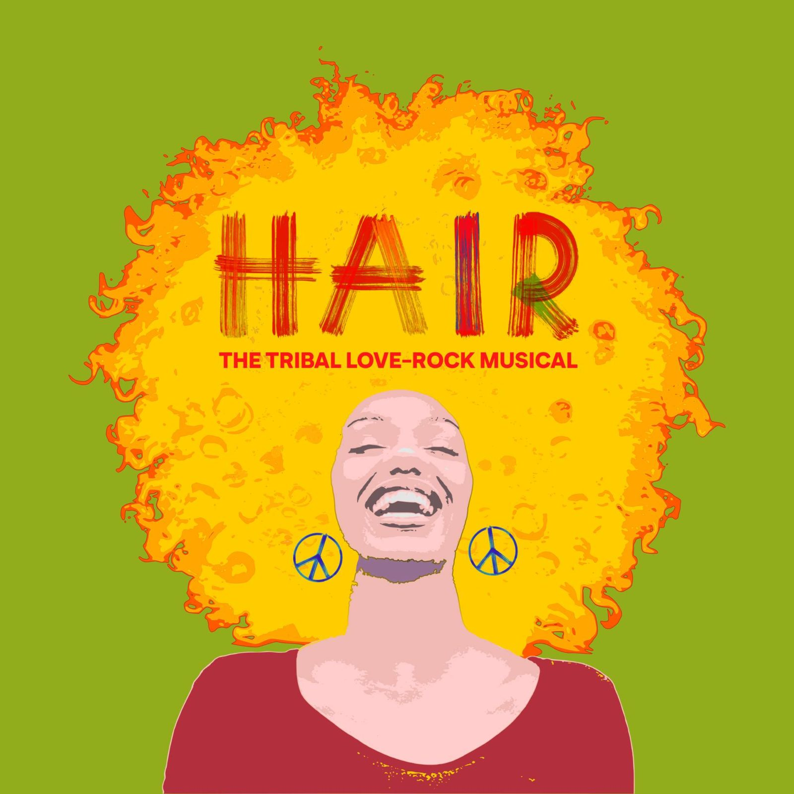 HAIR IL MUSICAL – LOGO